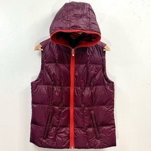 Eddie Bauer Premium Quality Goose Down Hooded Vest